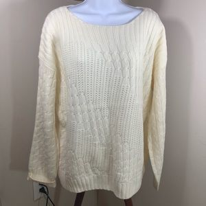 Jones NY | Off White Sweater xl